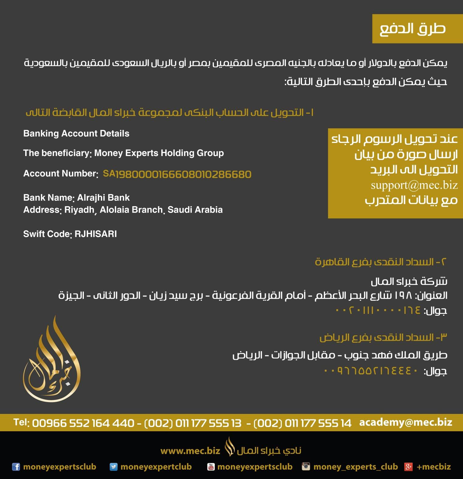 دورة أسرار التداول الحي في بورصة العملات العالمية║۩║ أ/ أحمد عبد الحميد ║۩║ نادي خبراء المال